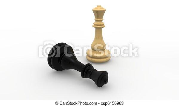 Chess concept  - csp6156963