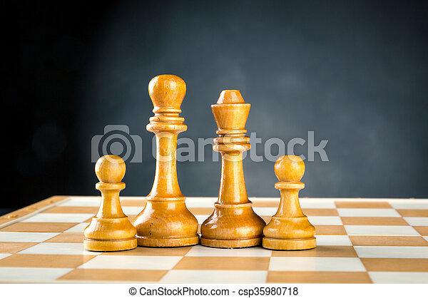 Chess figures - csp35980718