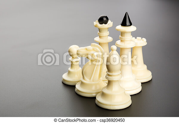 Chess figures - csp36920450