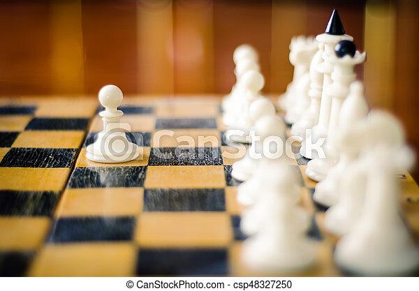 chess figures - csp48327250