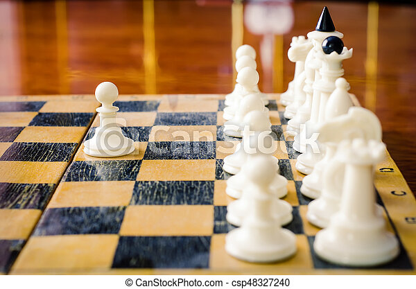 chess figures - csp48327240