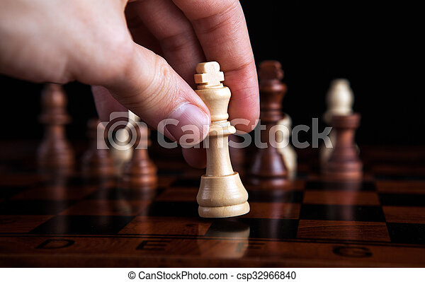chess game king move - csp32966840
