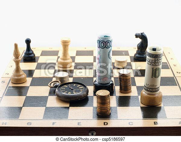 игры шахматы деньги