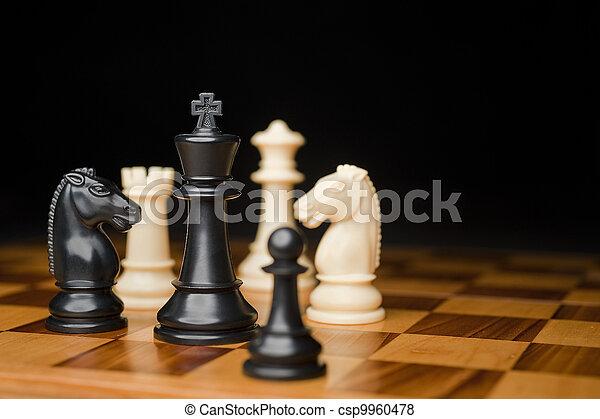 chess pieces - csp9960478