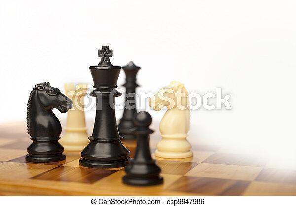 chess pieces - csp9947986