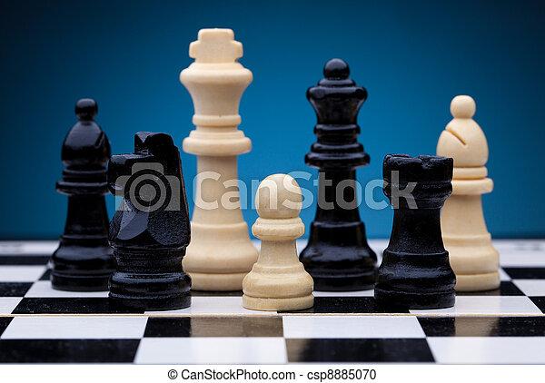 Chess pieces - csp8885070