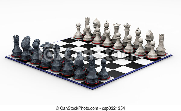 Chess set - csp0321354