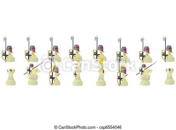 Chess Warriors. - csp6554046