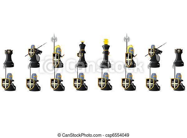 Chess Warriors - csp6554049