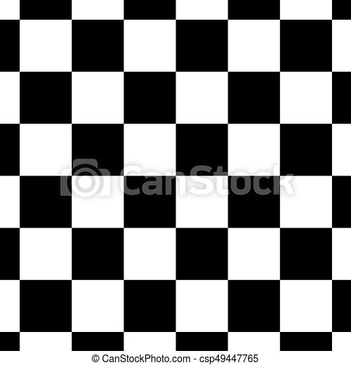 Empty chessboard isolated. board for chess or checkers game ...