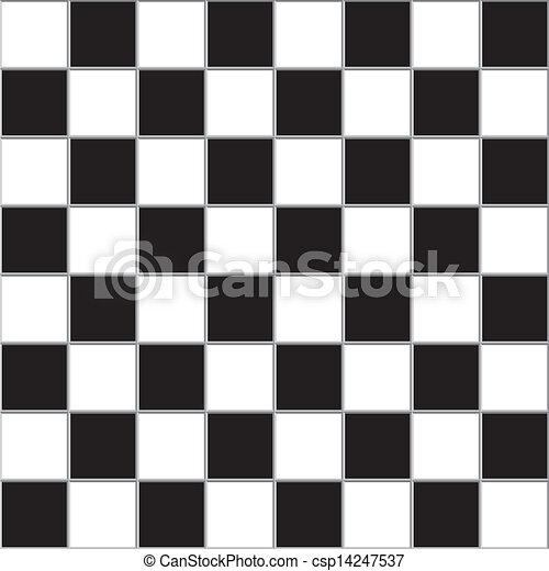 Chessboard trydimensional gigantesque - csp14247537