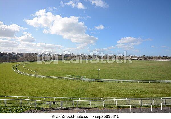 Chester race course - csp25895318