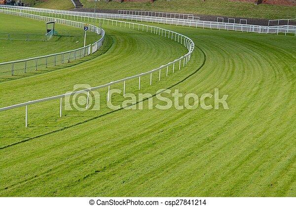 Chester race course - csp27841214
