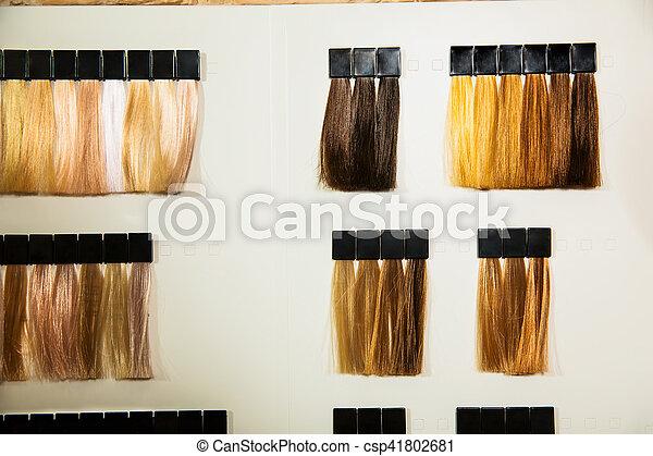 Cheveux Couleurs Palette Dye Different Palette Different