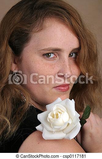 Cheveux Rose Blanc Rouge Beau Chevelure Rose Tenue Girl
