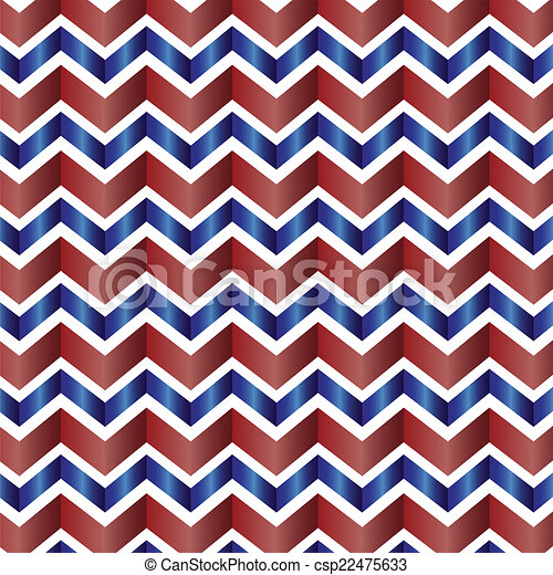 Chevron Pattern In Red White Blue Red White And Blue Seamless Inspiration Cheveron Pattern