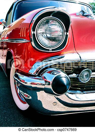 chevy, autó, öreg, klasszikus - csp0747669
