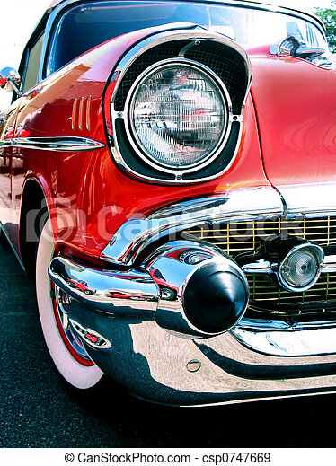 chevy, auto, altes , klassisch - csp0747669