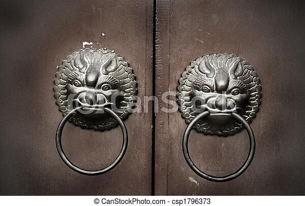 Chi Lin Feng Shui Door Knocker  - csp1796373