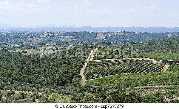 Chianti in Tuscany - csp7613279