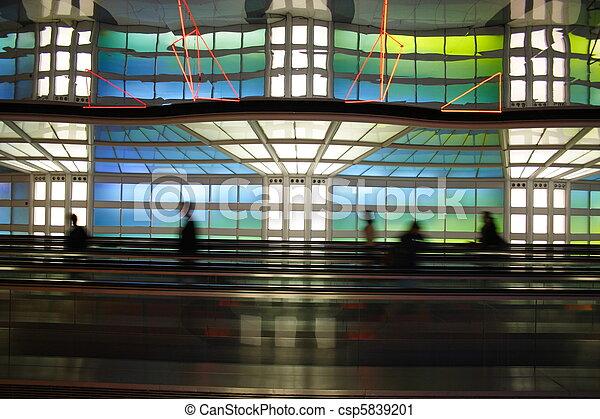 Chicago airport - csp5839201