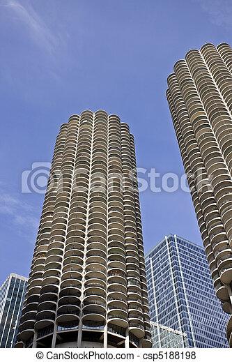 Chicago Cityscape - csp5188198