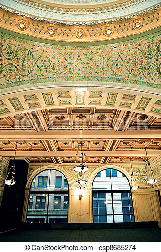 Chicago Cultural Center i - csp8685274