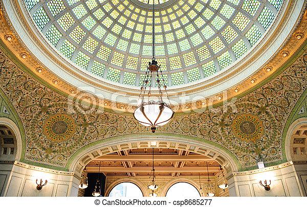 Chicago Cultural Center - csp8685277
