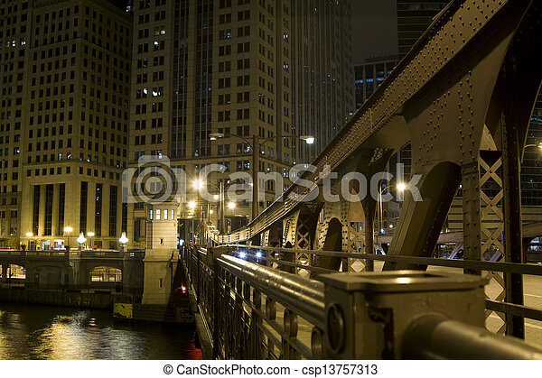 chicago, noc - csp13757313