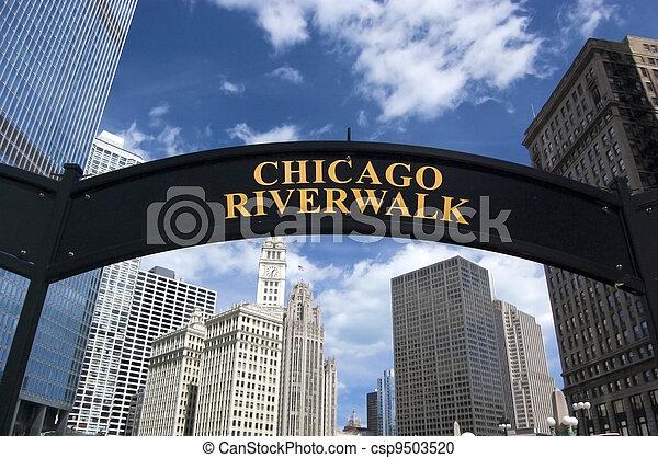 Chicago Riverwalk - csp9503520