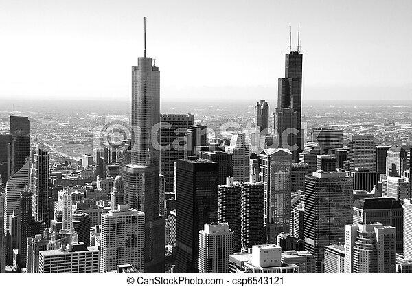 Chicago Skyline - csp6543121