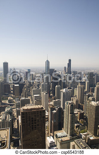 Chicago Skyline - csp6543188