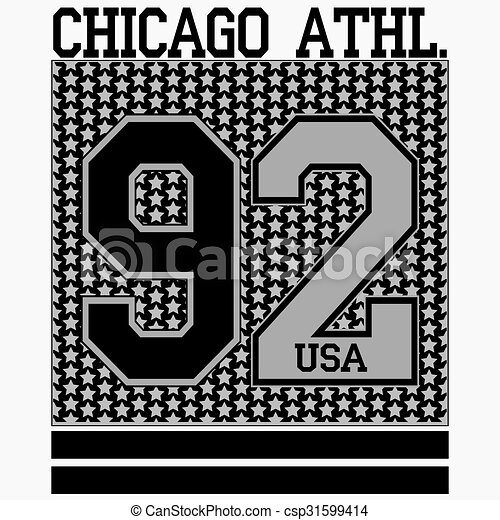 a6ee205c Chicago t-shirt. Sport fashion typography graphics. chicago t-shirt ...