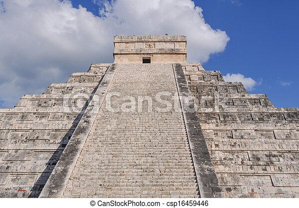 Chichen Itza Mayan Ruin in Mexico - csp16459446