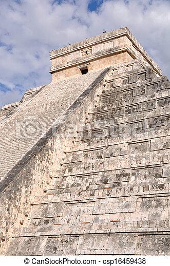 Chichen Itza Mayan Ruin in Mexico - csp16459438