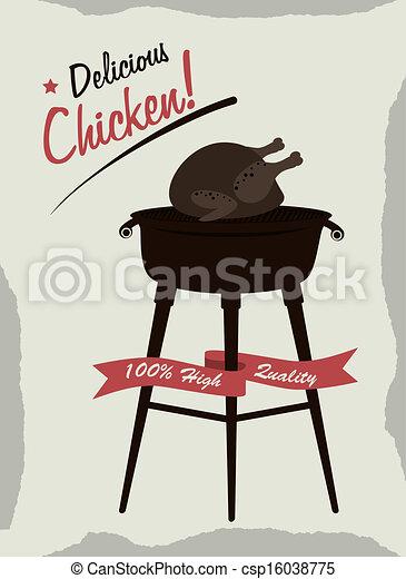 chicken - csp16038775