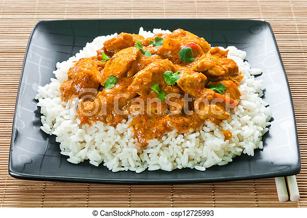 Chicken Curry - csp12725993