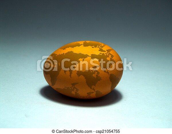 chicken egg  - csp21054755