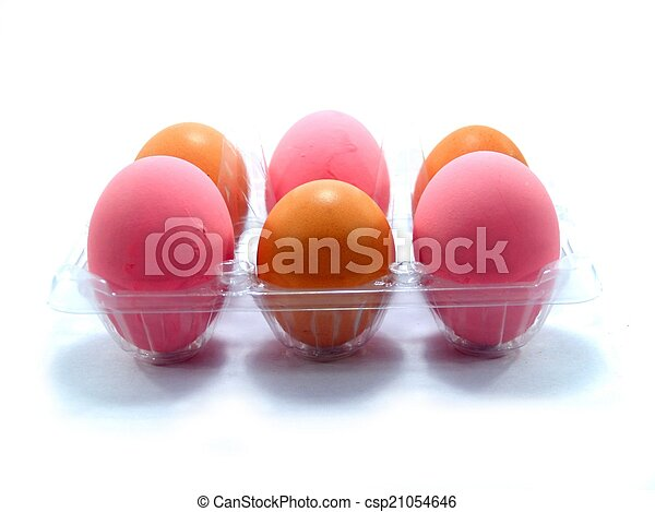 chicken egg  - csp21054646