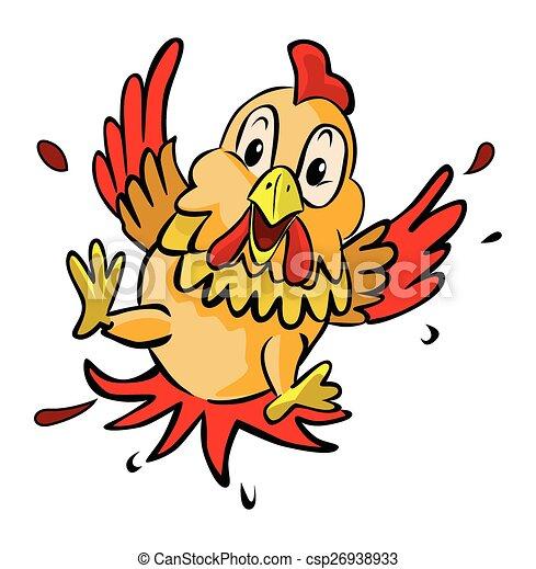 chicken fear - csp26938933