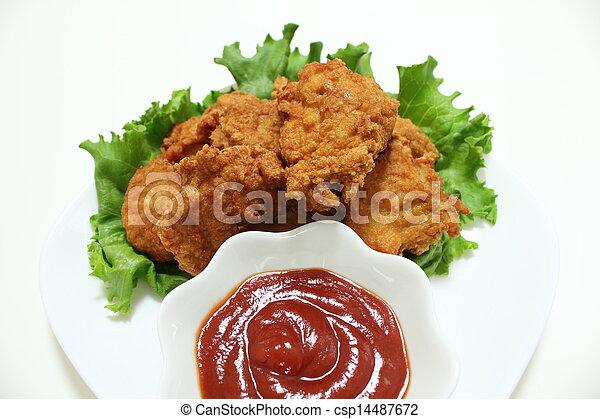Chicken nugget - csp14487672