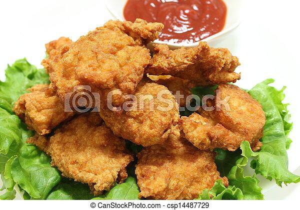 Chicken nugget - csp14487729
