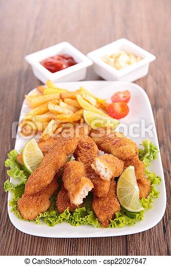 chicken nugget - csp22027647