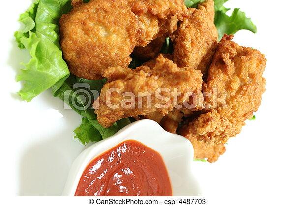 Chicken nugget - csp14487703