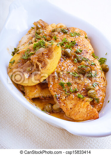 Chicken Piccata - csp15833414