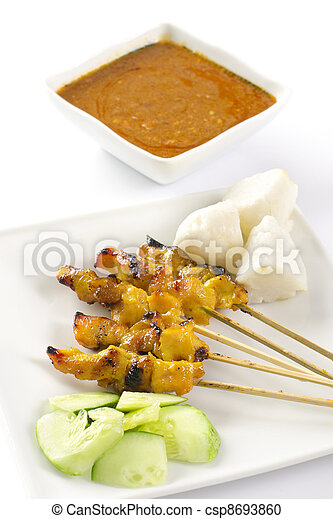 Chicken satay - csp8693860