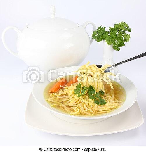 Chicken soup - csp3897845