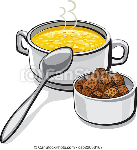 chicken soup with croutons clip art vector search drawings and rh canstockphoto com clip art soup ladle clip art soup can