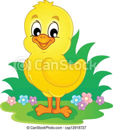 Chicken theme image 3 - csp12918727