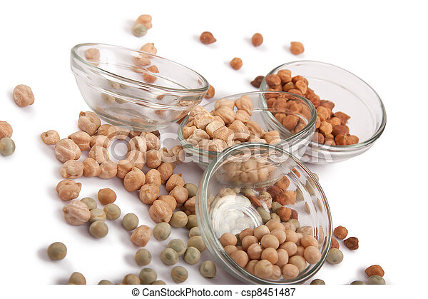 Chickpea and dry peas - csp8451487